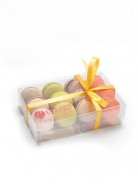 Coffret 12 mini macarons