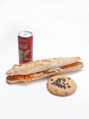 Menu sandwich + boisson + viennoisserie