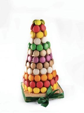 Cone macarons 120 pièces