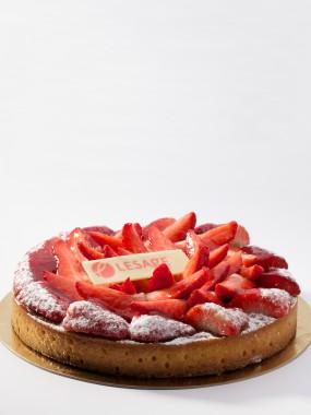 Frangipane fraises 4 Pers.