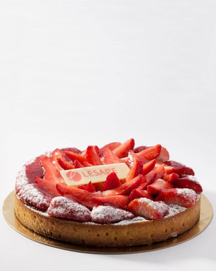 Frangipane fraises 6 Pers.