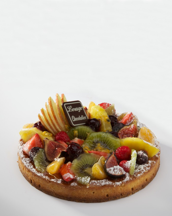 Frangipane fruits 4 Pers.